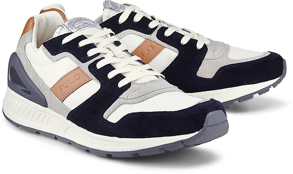 Sneaker Train 100 von POLO Ralph Lauren in weiß für Herren. Gr. 41,42,43,44,45 Preisvergleich