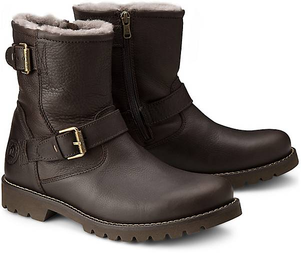 panama jack boots faust igloo winterstiefel braun. Black Bedroom Furniture Sets. Home Design Ideas