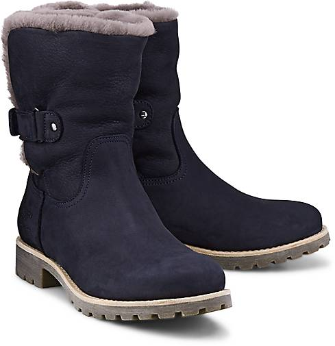 panama jack felia igloo b12 winter boots blau dunkel. Black Bedroom Furniture Sets. Home Design Ideas