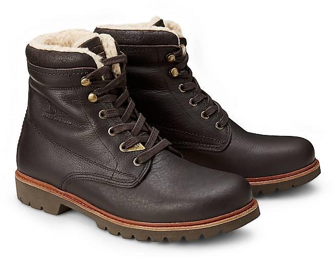 Panama Jack Schnür-Boots PANAMA 3 44602801 in braun-dunkel kaufen - 44602801 3 | GÖRTZ Gute Qualität beliebte Schuhe 9a8f37