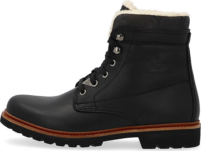 panama jack schn r boots panama 3 in schwarz kaufen g rtz. Black Bedroom Furniture Sets. Home Design Ideas
