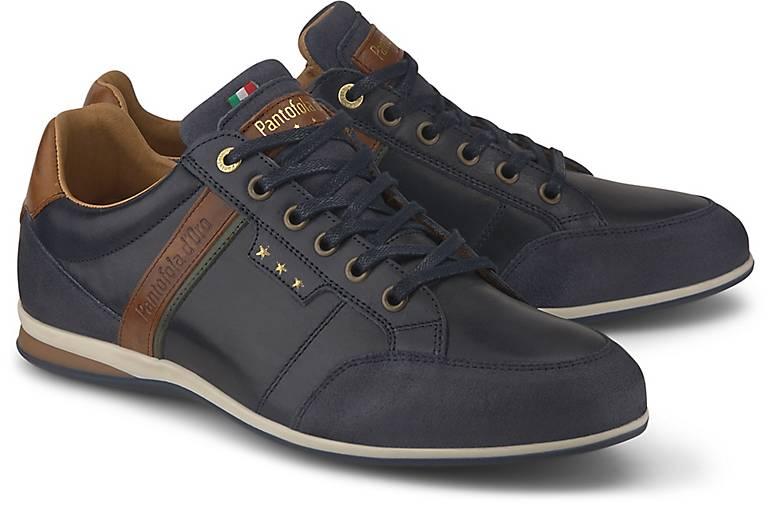 Pantofola Sneaker D'oro In dunkel Kaufen Roma Low Blau Uomo uOPXikZ