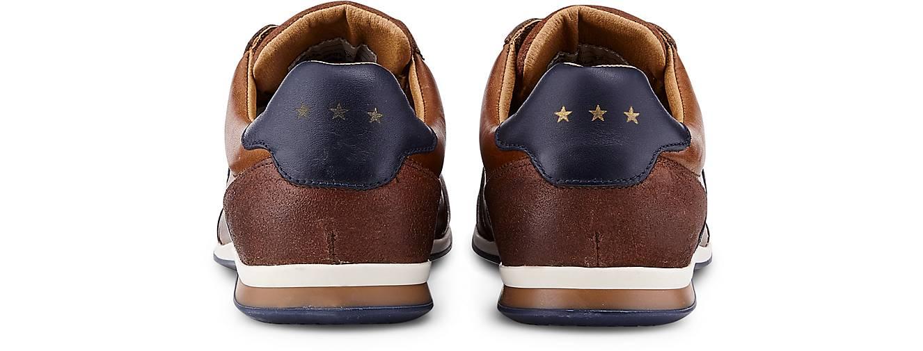 9ae5e981ee9 ... Pantofola d Gold Turnschuhe ROMA herren LOW in braun-mittel kaufen  kaufen kaufen ...
