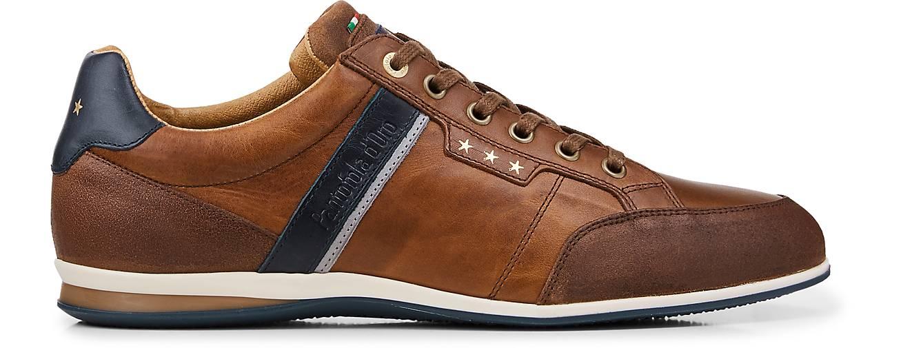 Pantofola d'Oro Sneaker ROMA UOMO LOW schwarz Herren Schuhe