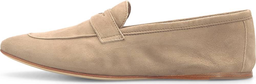 Patrizio Dolci| Penny-Loafer in beige| Slipper für Damen | Schuhe > Loafer | Patrizio Dolci