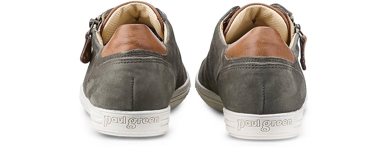 Paul Green Fashion-Sneaker in khaki GÖRTZ kaufen - 43110613 | GÖRTZ khaki 1033e9