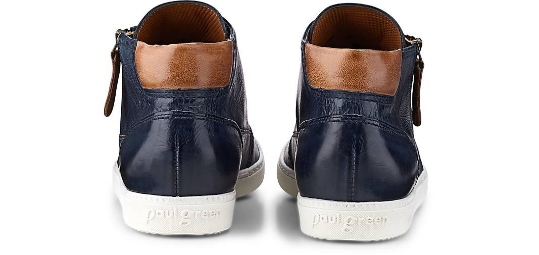 Paul kaufen Green Hi-Top-Sneaker in blau-dunkel kaufen Paul - 44786113 | GÖRTZ 8bc612