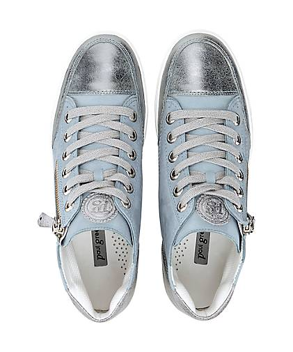 Paul Green - Hi-Top-Sneaker in blau-hell kaufen - Green 44786111 | GÖRTZ 040902