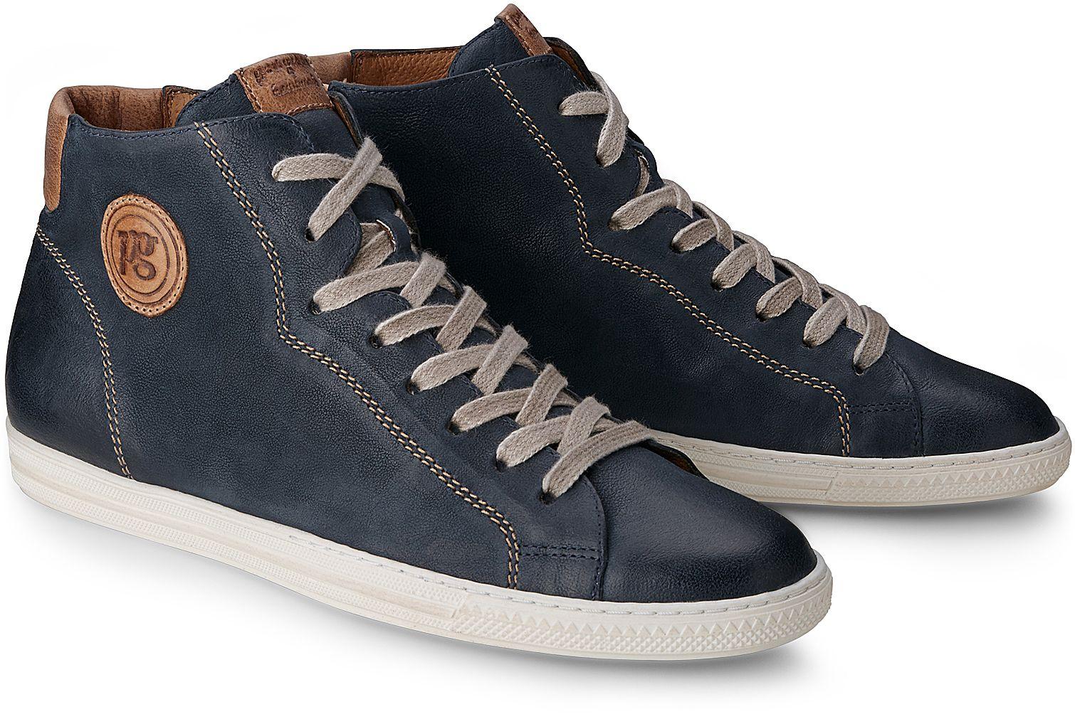 a87cbf74d999f9 Hochschaft Sneaker von Paul Green in blau dunkel für Damen. Gr. 35  1 3
