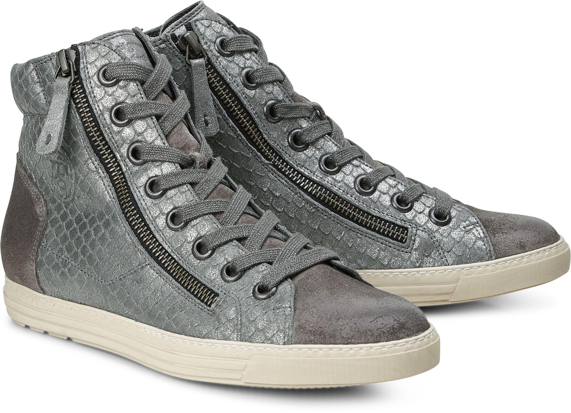 Hochschaft Sneaker von Paul Green in grau dunkel für Damen. Gr. 38,40,40 2 3 8135cb0fa4