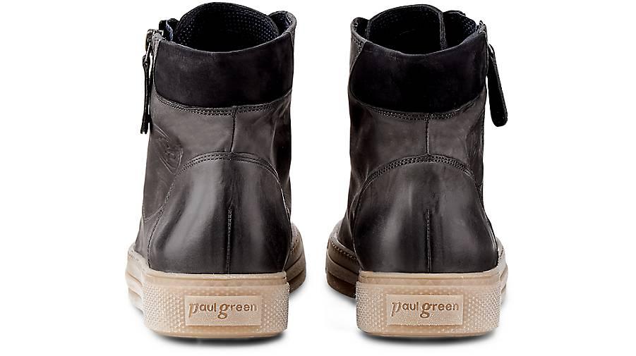 Paul Green Hochschaft-Sneaker in | grau-dunkel kaufen - 47818901 | in GÖRTZ 7f4fa7