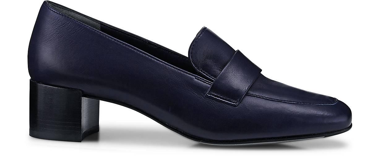 paul green loafer pumps klassische slipper blau dunkel g rtz. Black Bedroom Furniture Sets. Home Design Ideas