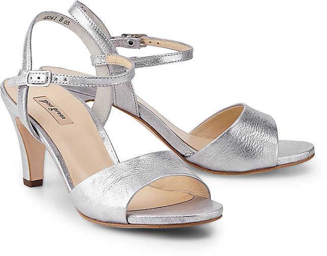 Paul Green Metallic-Sandalette