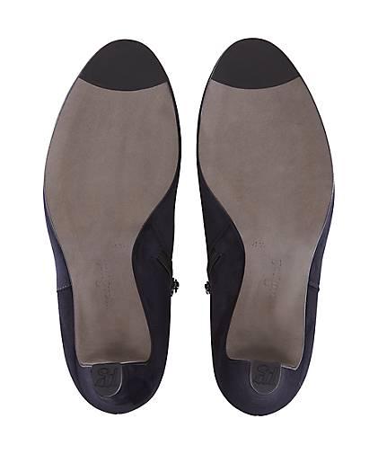 Paul Green - Nubuk-Ankle-Boots in blau-dunkel kaufen - Green 44192904 | GÖRTZ 020559