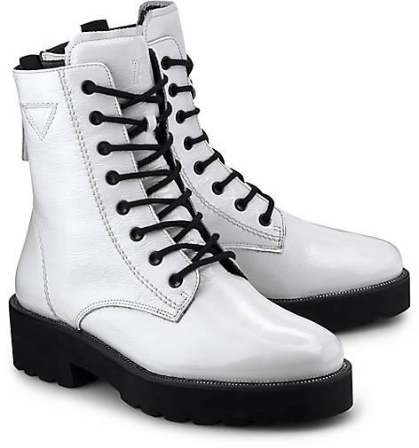 Stiefeletten Schnürstiefeletten In Weiß Kaufen Green Plateau Paul Sportliche boots f6gvYb7y
