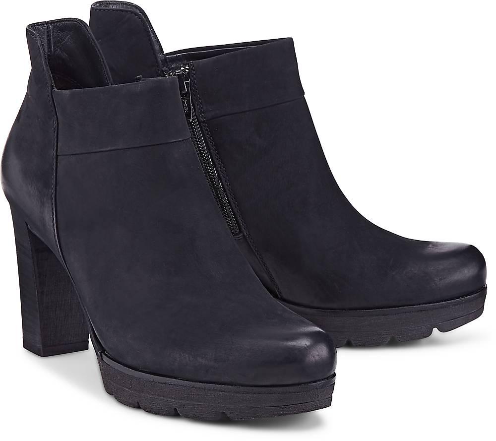 Paul Green  Plateau-Stiefelette in dunkelblau  Stiefeletten für Damen   Schuhe > Stiefeletten   Paul Green