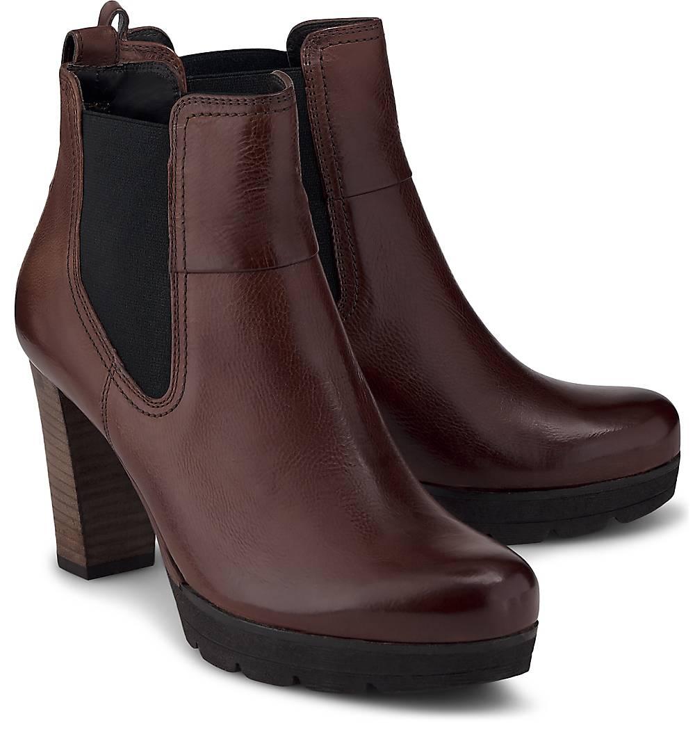 Paul Green  Plateau-Stiefelette in mittelbraun  Stiefeletten für Damen   Schuhe > Stiefeletten   Paul Green