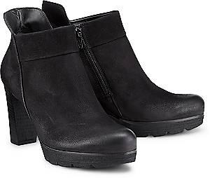 Paul Green, Plateau-Stiefelette in schwarz, Stiefeletten für Damen