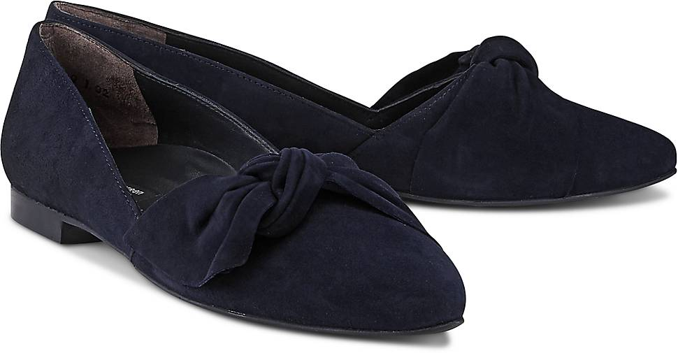 paul green Plateau-Slipper aus Lackleder Z8MvLGma7