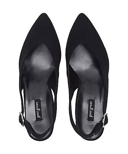 Paul Grün Sling-Pumps Sling-Pumps Sling-Pumps in schwarz kaufen - 48389101 GÖRTZ Gute Qualität beliebte Schuhe 8c294a