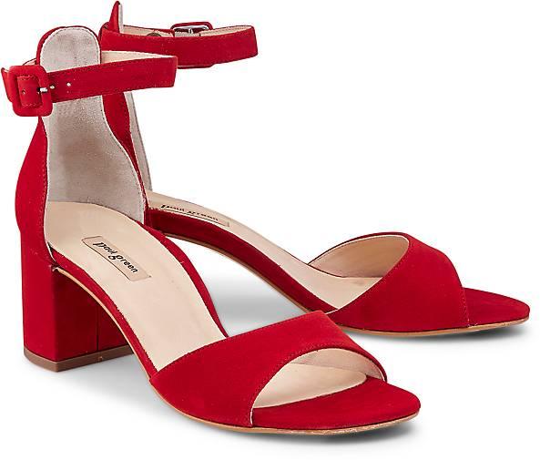paul green trend sandalette in rot kaufen 45558105 g rtz. Black Bedroom Furniture Sets. Home Design Ideas