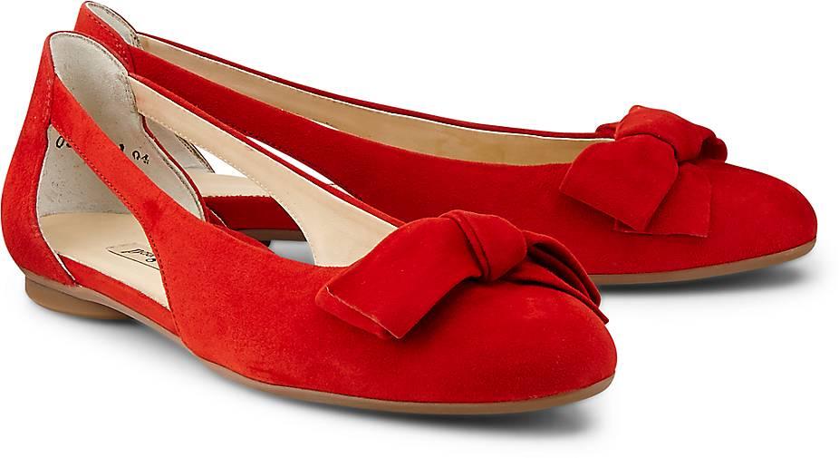 Paul Grün Velours-Ballerina in rot kaufen - beliebte 47364601 GÖRTZ Gute Qualität beliebte - Schuhe 6cf377