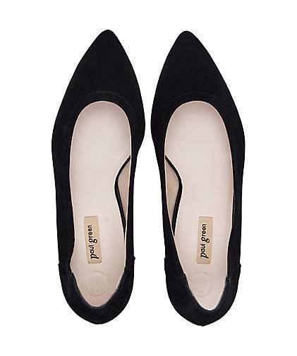 Paul Grün Grün Grün Velours-Pumps in schwarz kaufen - 48389301 | GÖRTZ Gute Qualität beliebte Schuhe b644b6