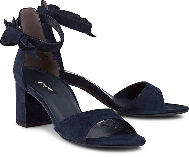 Paul Green Velours-Sandalette