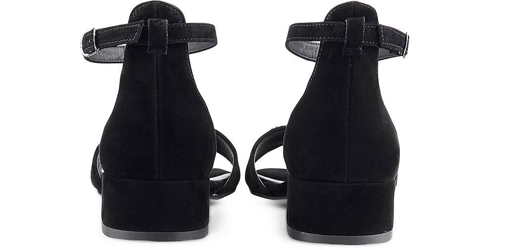Paul Grün Velours-Sandalette in schwarz kaufen - 47358501 GÖRTZ GÖRTZ GÖRTZ Gute Qualität beliebte Schuhe 65384b