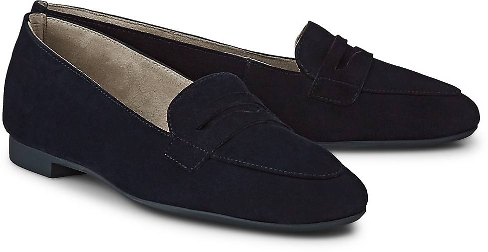 Paul Green Velours-Slipper