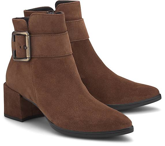 the latest 085c5 7605f Velours-Stiefelette