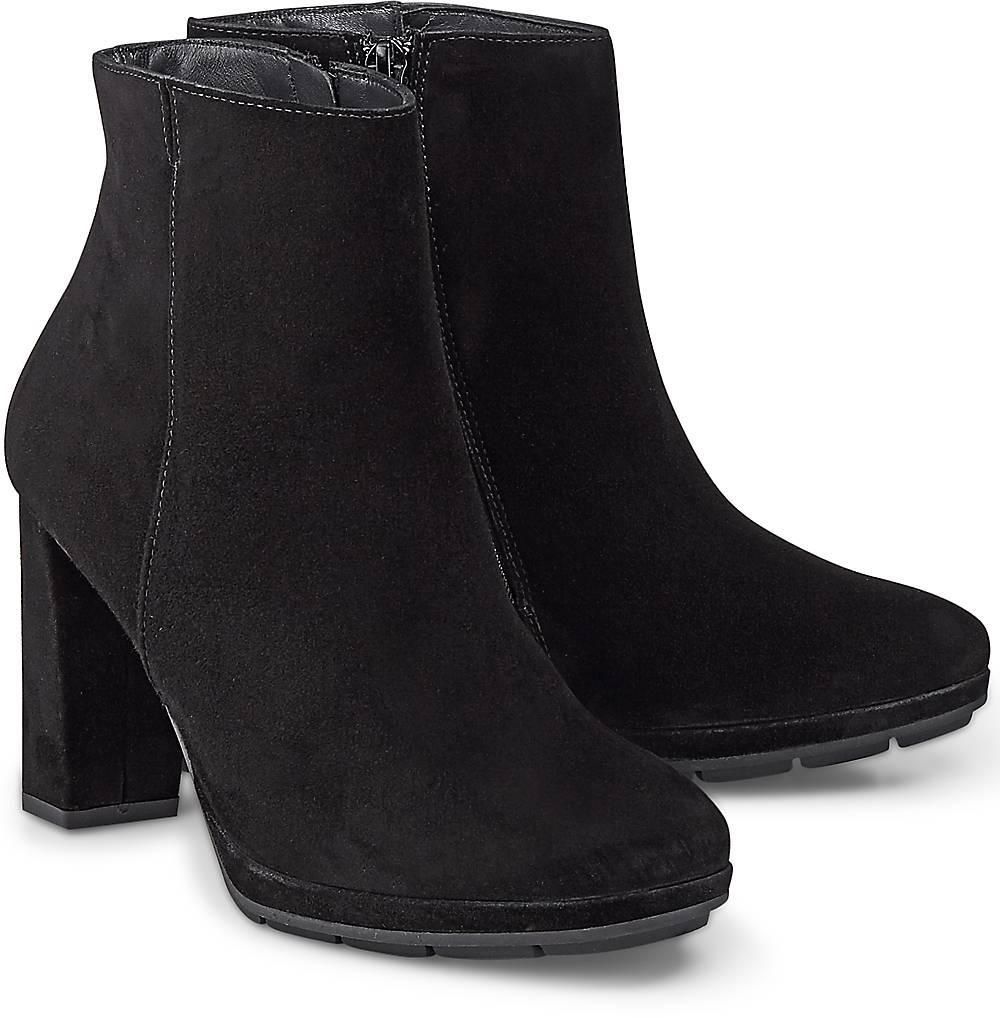 Velours-Stiefelette von Paul Green in schwarz für Damen. Gr. 37,38 1/2,40 1/2 Preisvergleich