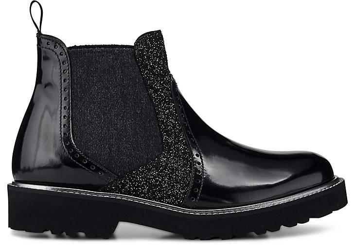 pertini chelsea boots sportliche stiefeletten schwarz g rtz. Black Bedroom Furniture Sets. Home Design Ideas