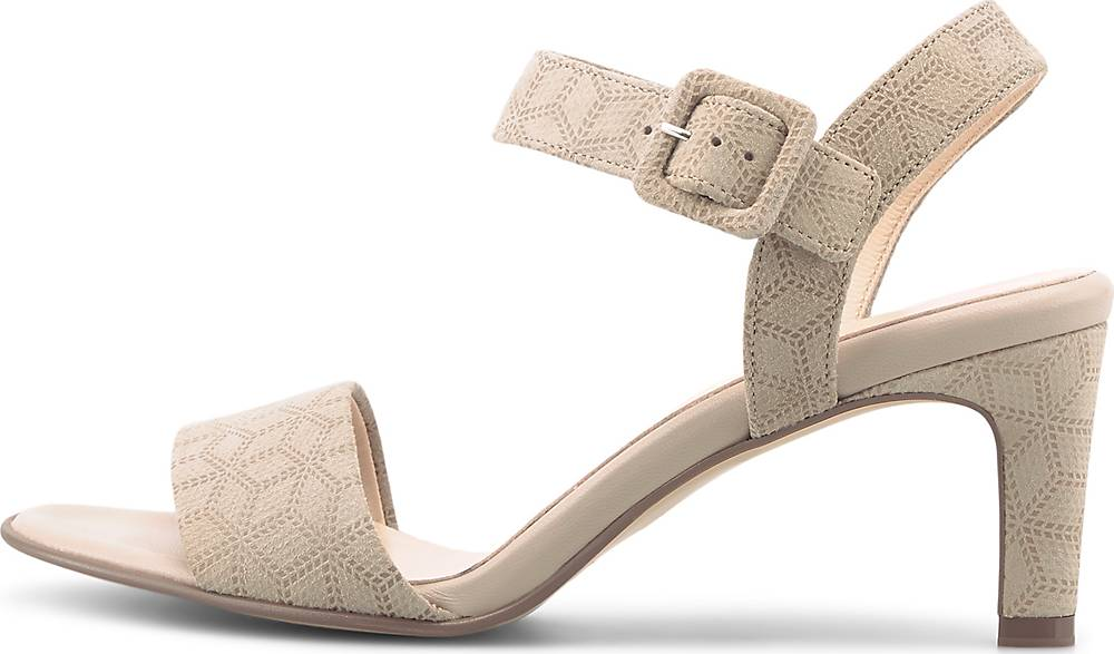 Peter Kaiser Riemchen Sandalette BACIA beige~31600001~front~1000 - aktuelle Schnäppchen von Shopping