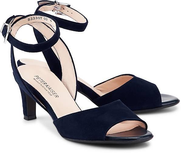 Blau Kaiser Peter Abendschuhe Sandaletten Branca In Sandalette dunkel Kaufen Kcl3FuT1J5
