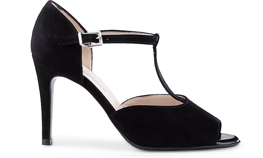 sandalette grete von peter kaiser in schwarz f r damen. Black Bedroom Furniture Sets. Home Design Ideas