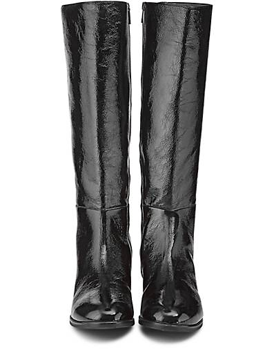 peter kaiser stiefel pizi klassische stiefel schwarz. Black Bedroom Furniture Sets. Home Design Ideas