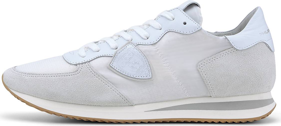 Philippe Model Sneaker TRPX LOW MANCAMOUFLAGE NEON_BLEU ORANGE