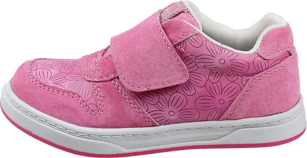 Pio Sneaker Mädchen-Kletthalbschuh Blumen