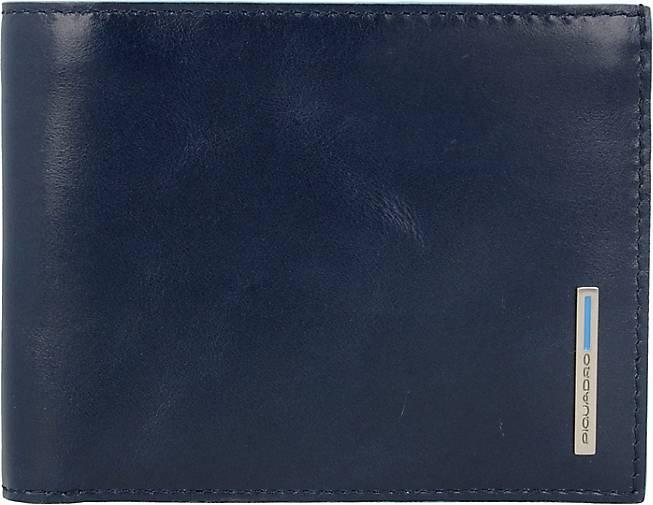 Piquadro Blue Square Kreditkartenetui Leder 12,5 cm