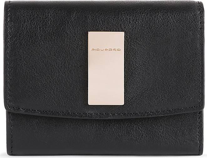 Piquadro Dafne Geldbörse RFID Leder 12 cm