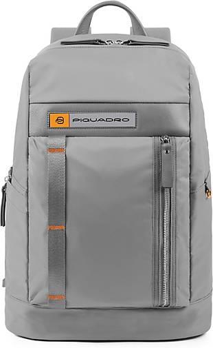 Piquadro PQ-Bios Rucksack 43 cm Laptopfach