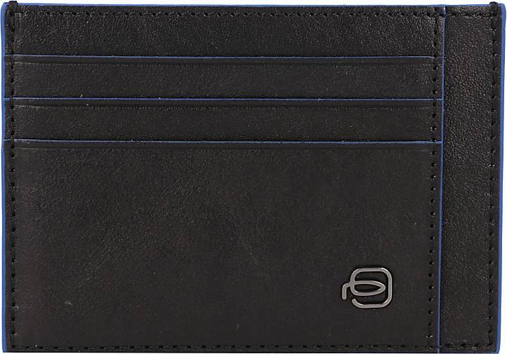 Piquadro Square Special Kreditkartenetui RFID Leder 11 cm