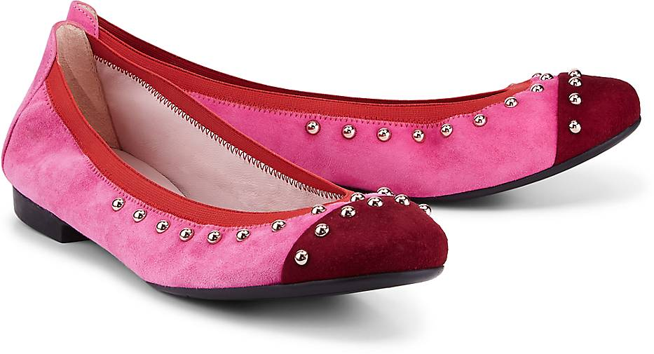Pretty Ballerinas - Ballerina BLOK GOMMA - Ballerinas - blau-mittel ... 3c027581d2