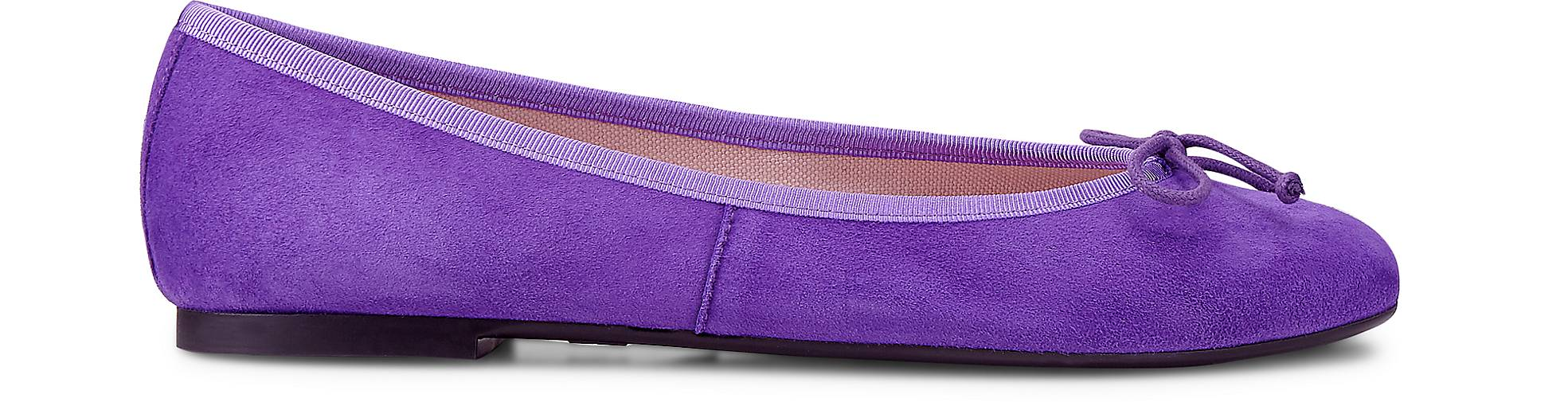 Pretty Ballerinas Trend-Ballerina in | lila-dunkel kaufen - 47722101 | in GÖRTZ Gute Qualität beliebte Schuhe e00899