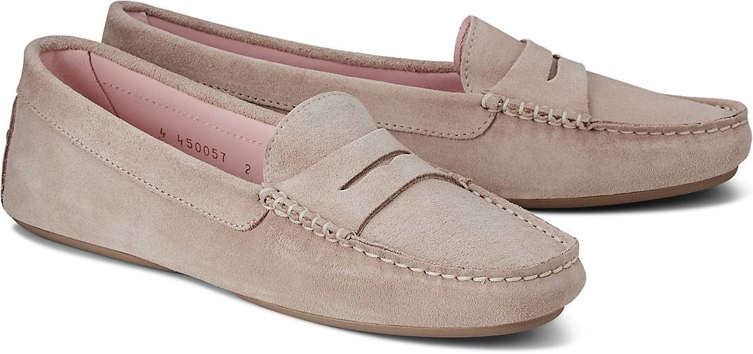 Pretty Loafers Nubuk-Mokassin