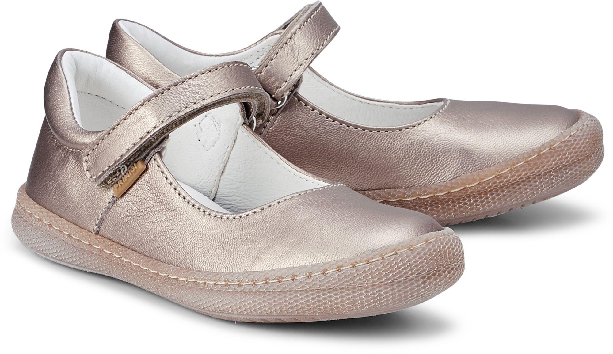 Ballerina MORINE von Primigi in gold für Mädchen. Gr. 26,27
