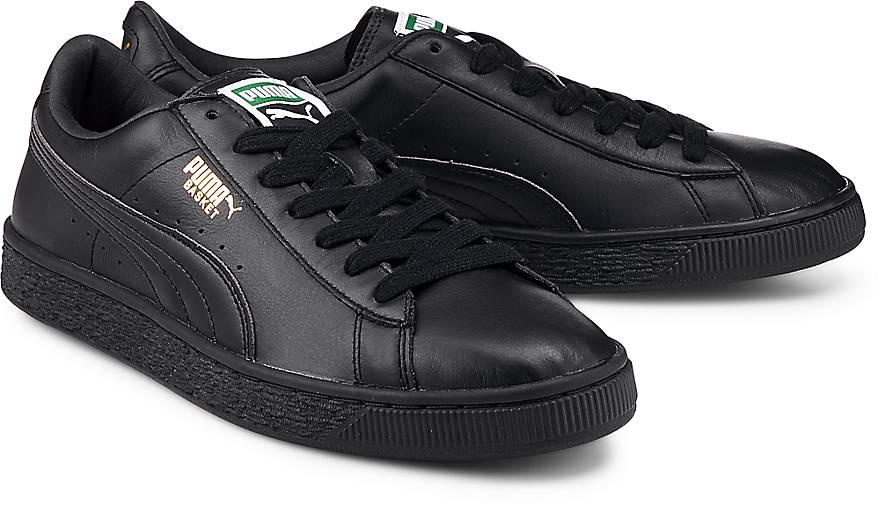 puma basket classic lfs sneaker low schwarz g rtz. Black Bedroom Furniture Sets. Home Design Ideas