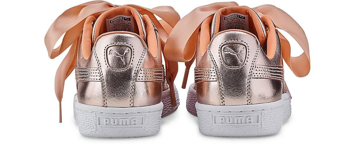 Puma BASKET - HEART LUXE in bronze kaufen - BASKET 47497401 | GÖRTZ 5270bd