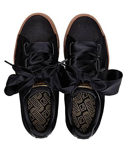 Puma BASKET HEART 47035901 in schwarz kaufen - 47035901 HEART | GÖRTZ Gute Qualität beliebte Schuhe 3b8594